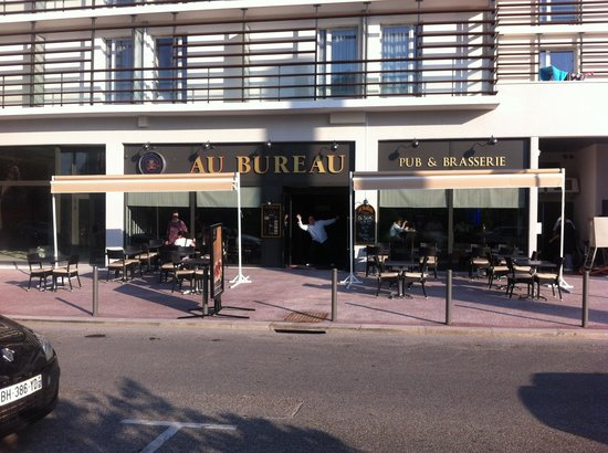 Au bureau le touquet paris plage reviews phone for Restaurant le jardin au touquet