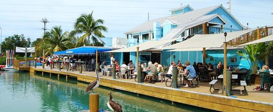 Hurricane hole restaurant marina key west restaurant for Cuisine west island