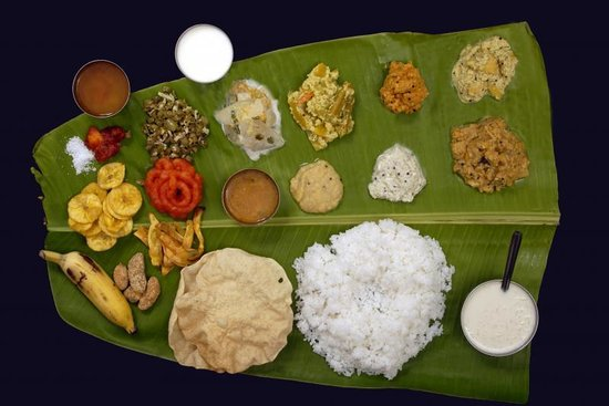 South Indian Lunch.