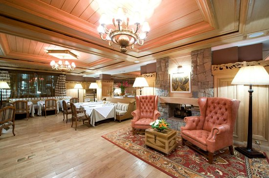 Michlifen Ifrane Suites & Spa: Restaurant La Grande Carte