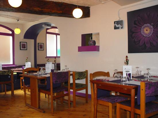 small part of view of restaurant picture of aubergine