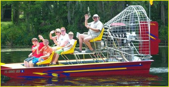 Captain Bob's Airboat Tour