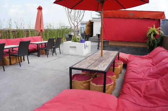 Jocs Boutique Hotel & Spa: Rooftop lounge