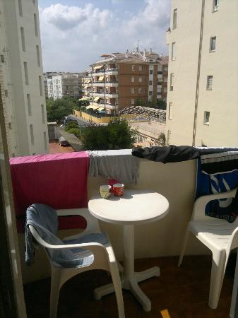 Hotel Savoy Lloret de Mar: Terrace with a view great for morning coffee