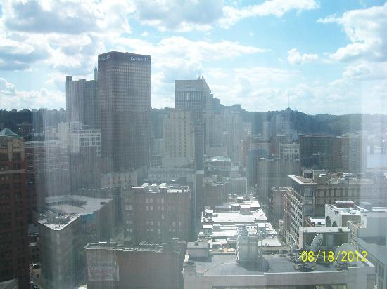 The Westin Convention Center Pittsburgh: View from our room on 26th floor