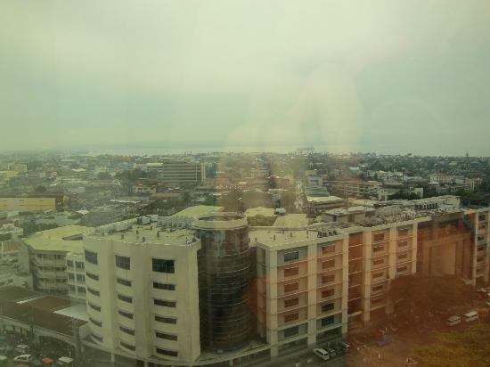 Marco Polo Davao: View from my room at the 14th floor