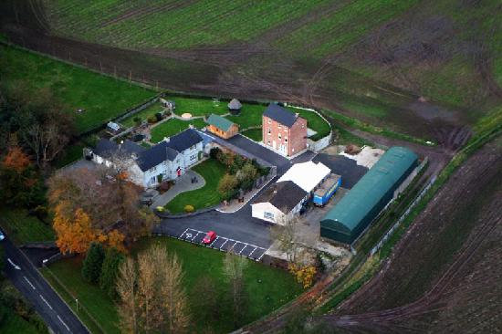 Ballycarton House: Ballycarton from the air