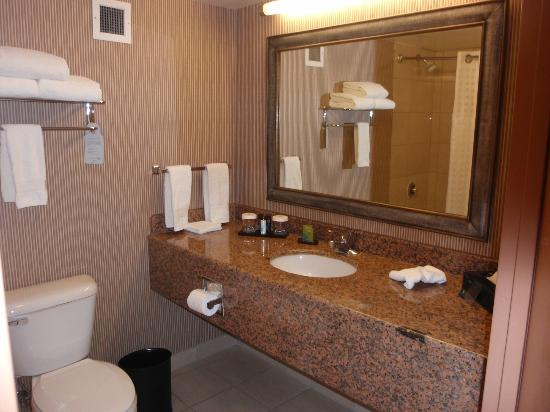 Embassy Suites Anaheim - South: Clean and spacious