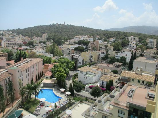 View from junior suite 1001 picture of hotel isla - Palma de mallorca spa ...