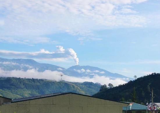 Hotel Reventazon: View of Volcan Turrialba