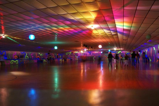 Special Effect Lighting Picture Of Skateland Rockford