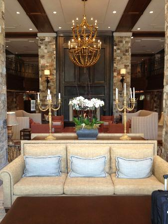 The St. Regis Deer Valley: lobby