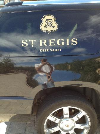 The St. Regis Deer Valley: Cadillac Escalade the hotel uses for guests