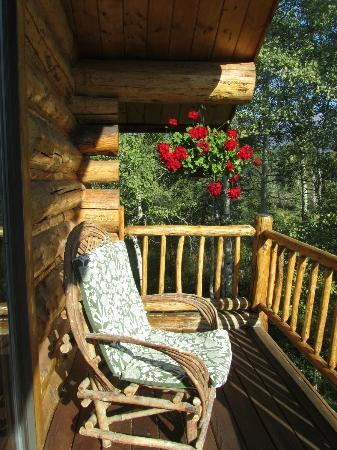 Wildflower Inn: Balcony