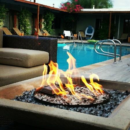 The Spring  Resort &amp; Spa: Firepit