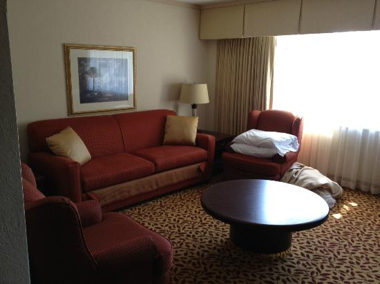 Royal Scot Hotel &amp; Suites: Queen hide-a-bed couch