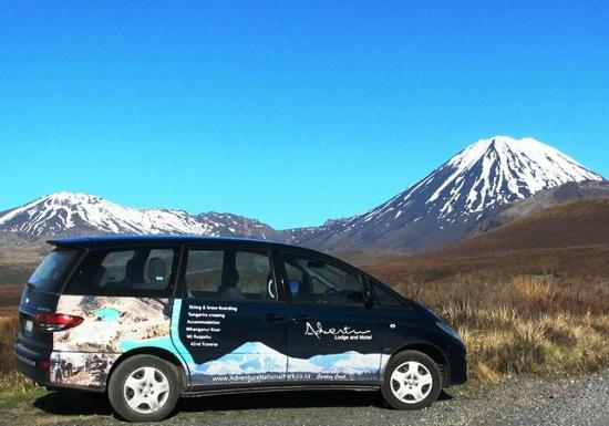 Adventure Lodge & Motel: The Tongariro Alpine Crossing Transport