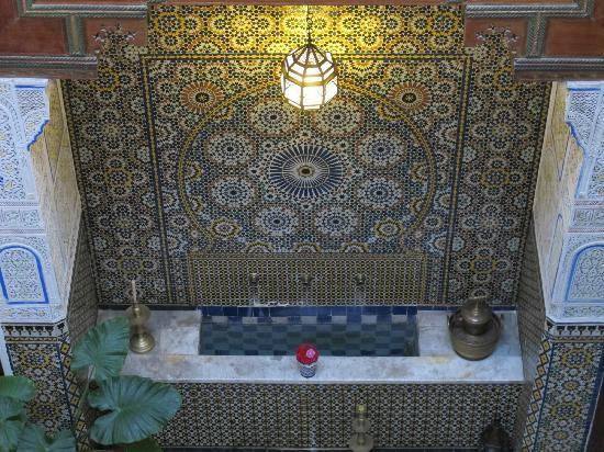 Dar Attajalli: Beautifully restored tilework