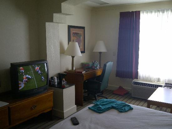 BEST WESTERN Leisure Inn: Decent Size Room
