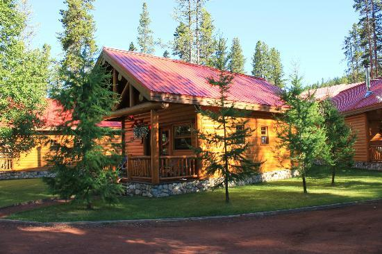 View of our perfect cabin august 2012 picture of baker for Lake louise cabin rentals