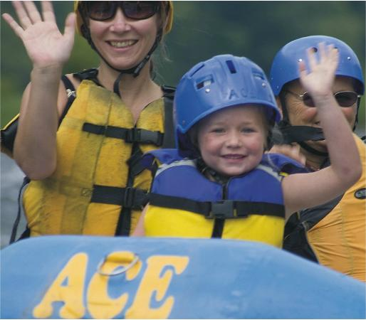ACE Adventure Resort: Smiles for everyone!
