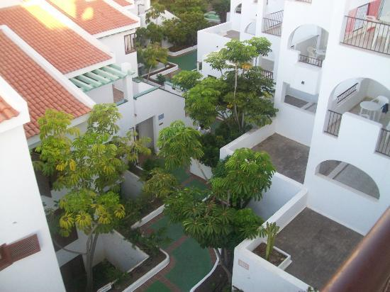 Vime Callao Garden: view from balcony