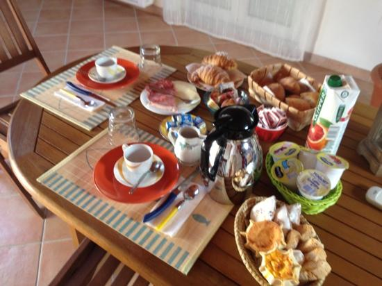 Lloc d'Or B&B: frukost