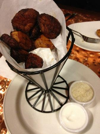 Lakeside Inn and Casino: Fried Plantain