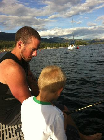 Cottonwood Family Campground: Fishing