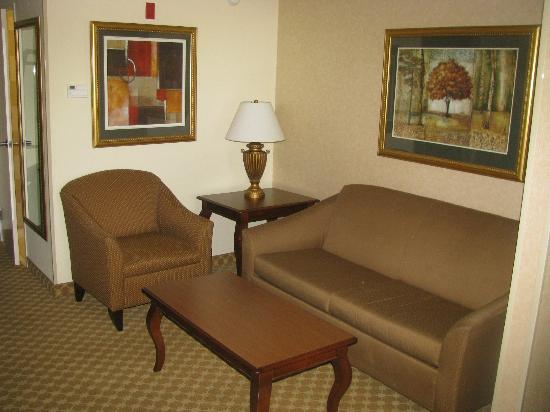 Country Inn & Suites Athens: Couch & Chair in Room 410