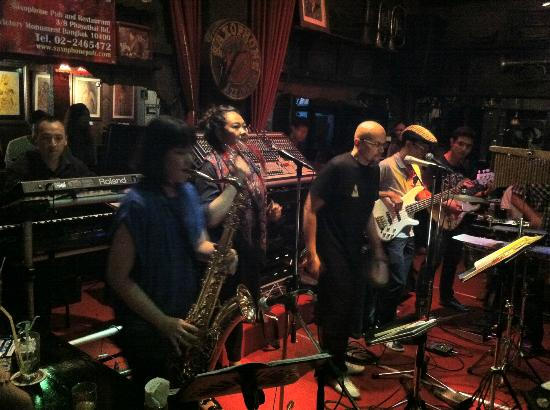 Photos of Saxophone Pub, Bangkok
