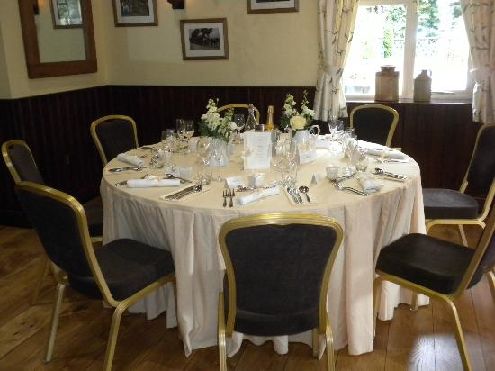 The Black Horse Inn: The Pilgrim Suite wedding