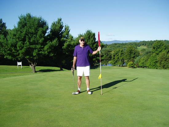 Sunny Hill Resort and Golf Course Catskills: From Green on back nine of SunnyHill