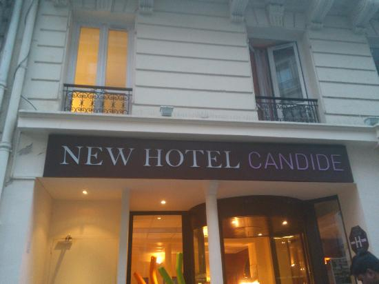 New Hotel Candide : the entrance