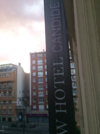 New Hotel Candide : view from window