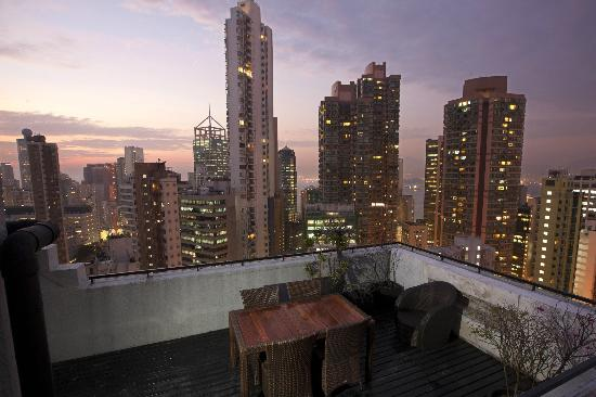 Ovolo Serviced Apartment - 222 Hollywood Road, Sheung Wan: Rooftop