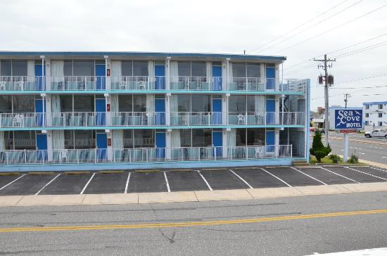 3 story building view picture of sea cove motel ocean raw1076 new 3 story building infront of the main road