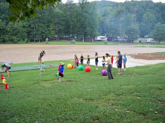 Yogi Bear's Jellystone Park Marion NC: More rainy day games!