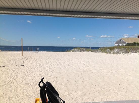 Sea Crest Beach Hotel: the view from our room