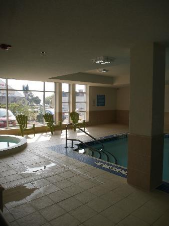 Pool And Hot Tub On The Main Level Picture Of Wyndham Garden Fallsview Niagara Falls Niagara