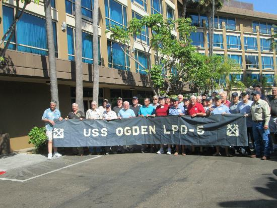Holiday Inn San Diego-Bayside: U.S.S. Ogden group