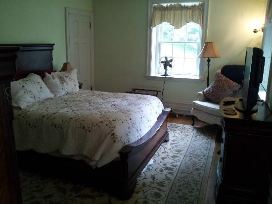 Tyrone, Pennsylvanie : Bedroom on the second floor