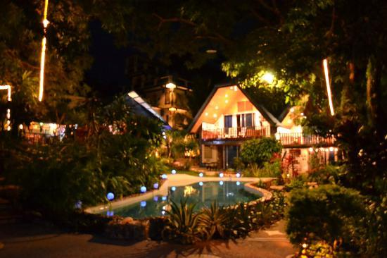 Princess of Coron: view at night