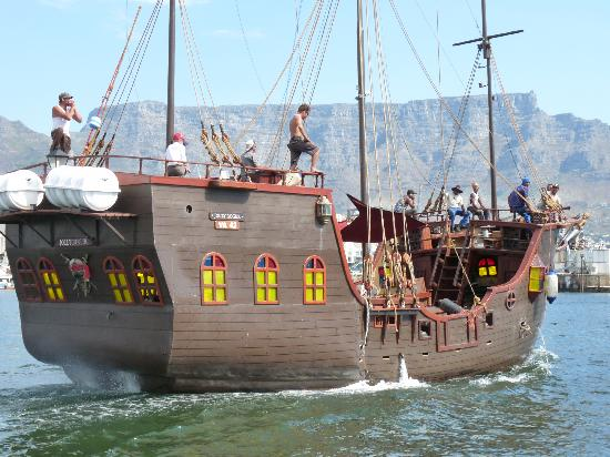 ... Picture of Jolly Roger Pirate Boat, Cape Town Central - TripAdvisor