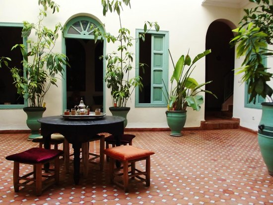 Riad Helen: Le Patio.