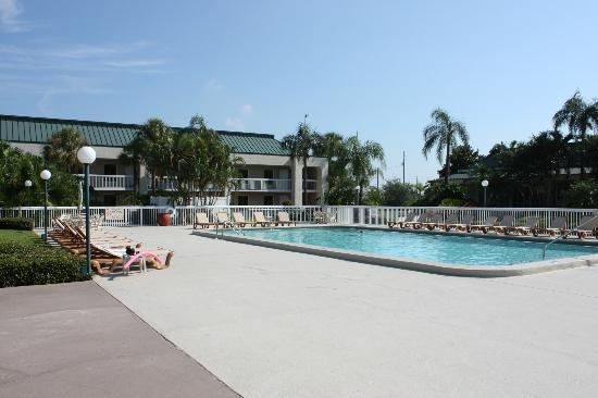 Hampton Inn Clearwater Central: Lovely pool area.