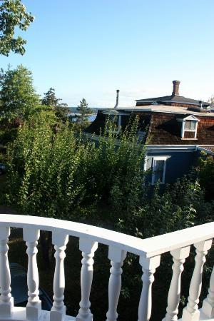 Lovejoy Inn on Whidbey Island: View from deck