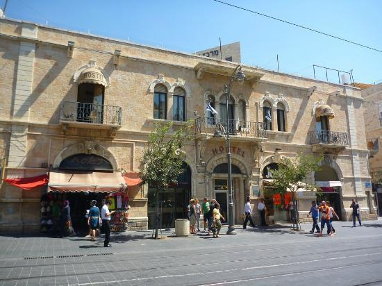 The Jerusalem Hostel: Front of the building