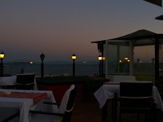 Amiral Palace Hotel: Rooftop balcony