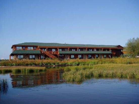 Ashland Lake Superior Lodge: View from lake
